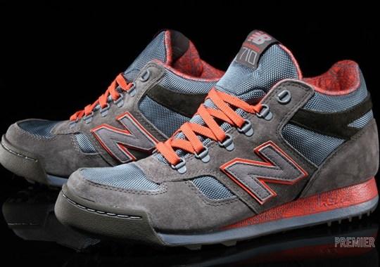 New Balance H710 – Grey – Orange