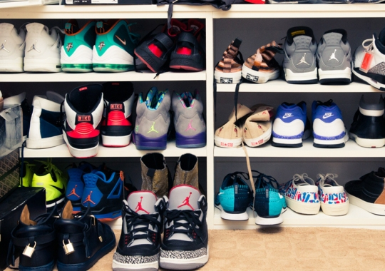 A Look Inside Swaggy P's Sneaker Collection