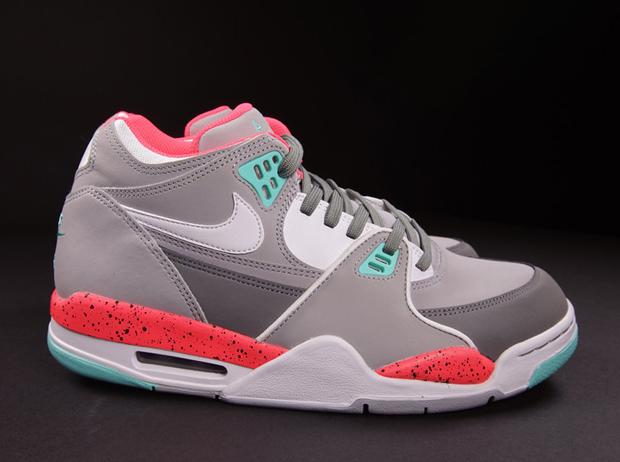 new product 0c56f 62030 Nike Air Flight  89 - Wolf Grey - Cool Grey - Hyper Turquoise - Hyper Punch  - SneakerNews.com