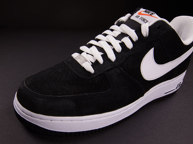 bbd3bdd757d555 Nike Air Force 1 Low Black Suede White 70%OFF - ramseyequipment.com