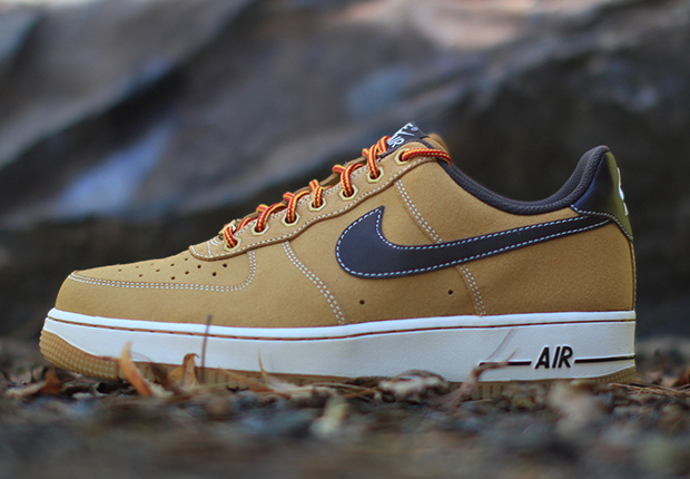 nike air force 1 low wheat work boot