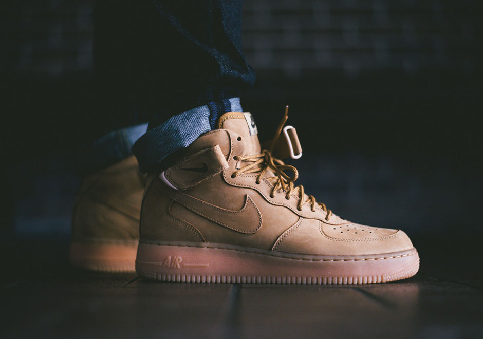 nike air force one flax