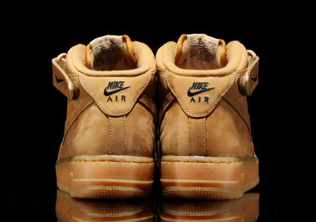 nike air force mid wheat for sale