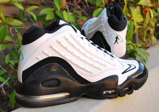 Nike Air Griffey Max II – White – Black – Hyper Jade