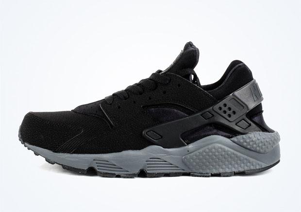 huarache shoes black
