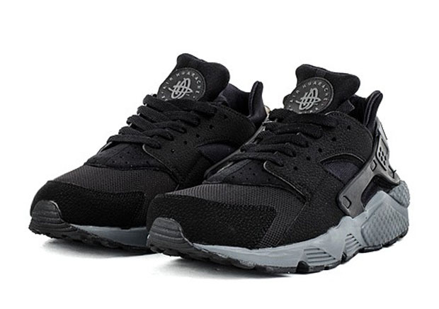 Nike Air Huarache - Black - Grey