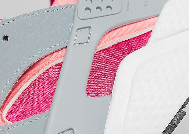 9182cd3a194a Nike Women s Air Huarache - Light Magnet Grey - Bright Mango ...