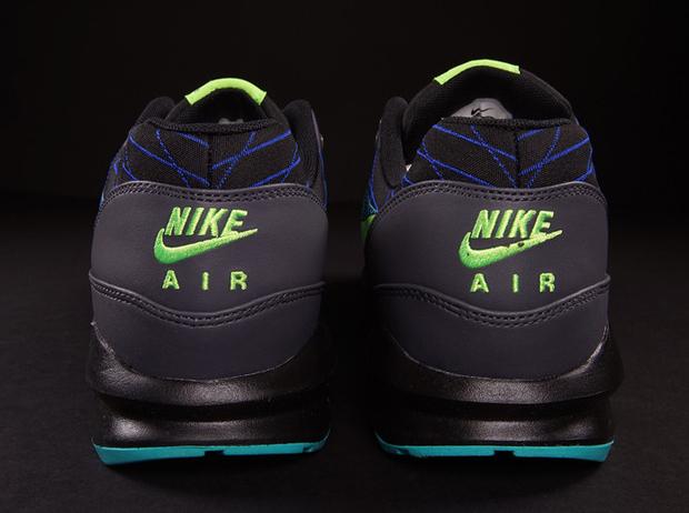 22a2e3d32354 Nike Air Max Lunar 1 JCRD Winter - Black - Flash Lime - Hyper Cobalt -  SneakerNews.com