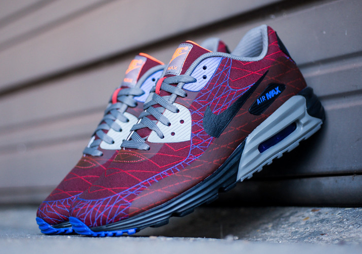 nike air max lunar90 jacquard red clay available. Black Bedroom Furniture Sets. Home Design Ideas