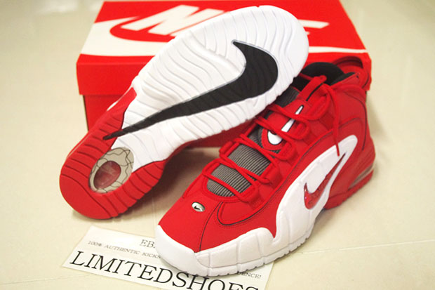 huge discount 70611 3a434 Nike Air Max Penny Color  University Red Black-White Style Code  685153-600.  Advertisement