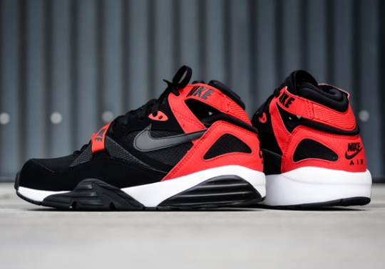 Nike Air Max Trainer '91 – Black – University Red