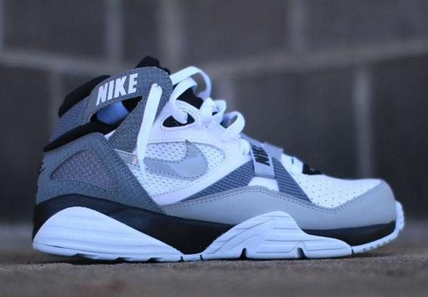 Nike Air Trainer 91 White Grey Black Sneakernews Com