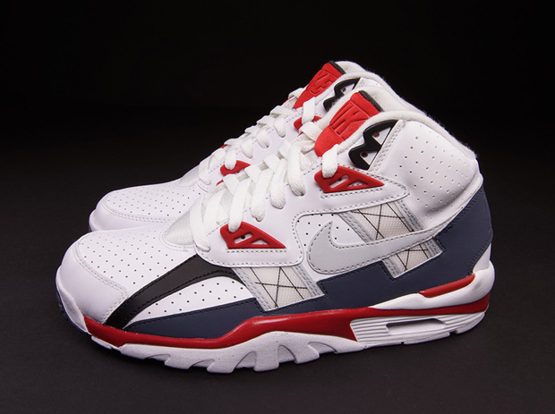 Nike Air Trainer Sc High White Red Blue
