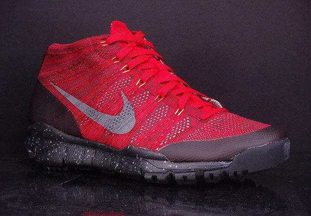 91a657511d93 Nike Flyknit Trainer Chukka FSB - University Red - Black ...