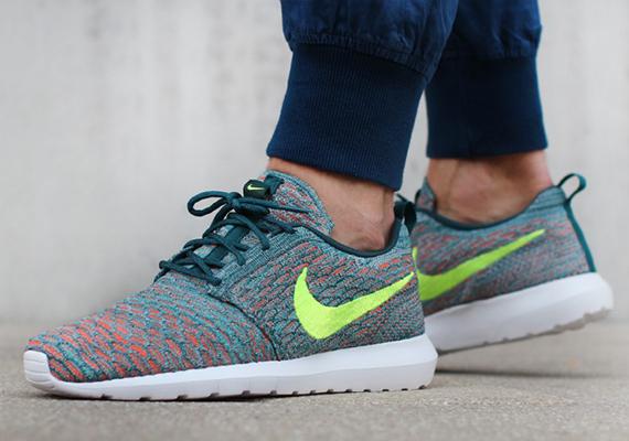 Nike Flyknit Roshe Run Mineral Teal