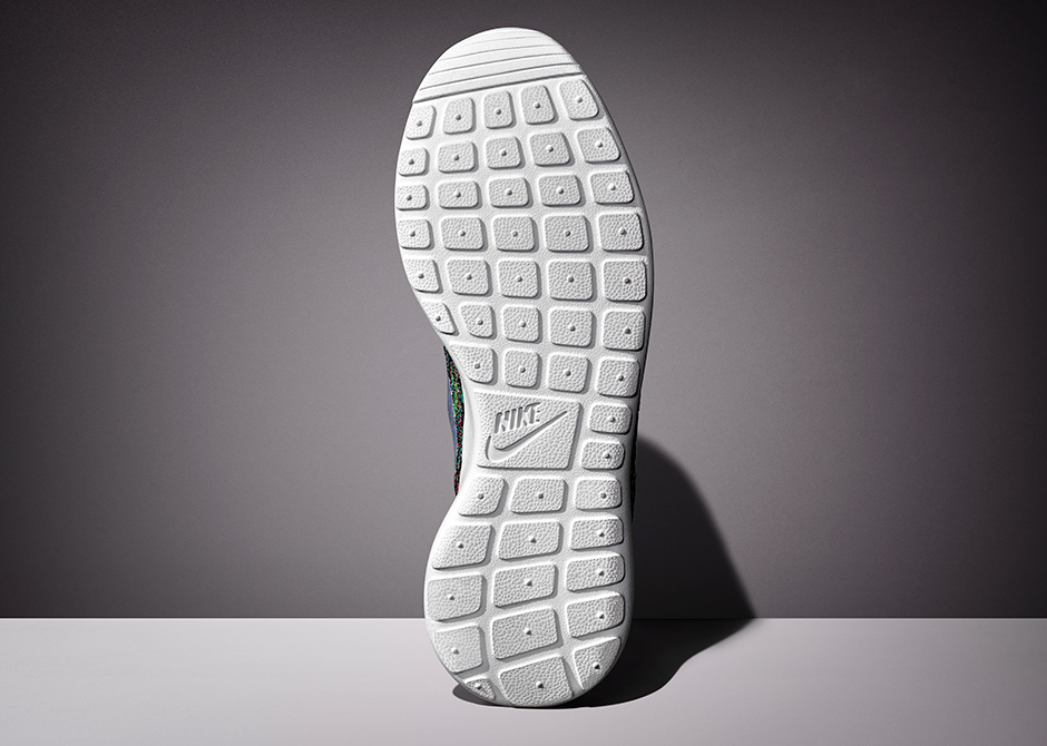 Nike Roshe Ejecutar Zapatos De Los Hombres Multicolores Flyknit gyHAy