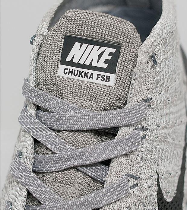 Nike Flyknit Trener Chukka Fsb Sko - Lys Trekull Seler lCOBO
