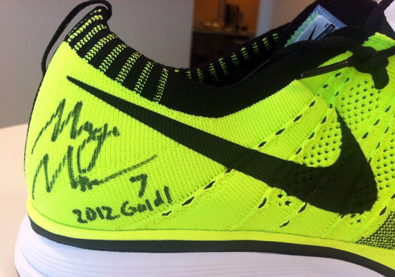 """best website ff260 30f96 Maya Moore s Nike Flyknit Trainer """"USA Medal Stand"""" PE From The 2012  Olympics"""
