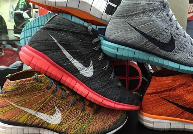 Has Free and Flyknit surpassed the teaming up of everyone's favorite knit  fabric paired with that infamous lunarlon outsole? For the time being, ...