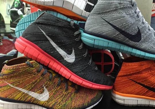 Nike Free Flyknit Chukka – 2015 Samples