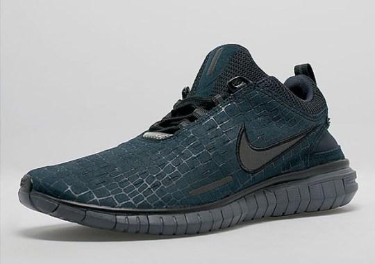 """Nike Free OG '14 """"Obsidian Croc"""""""