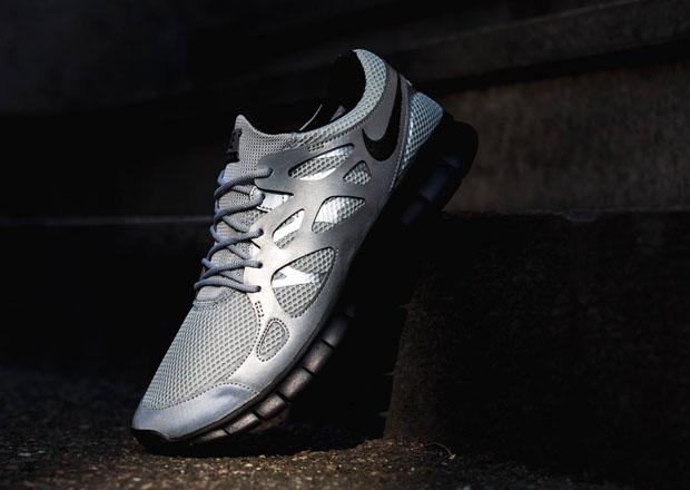 Nike Free Run 2 Silver