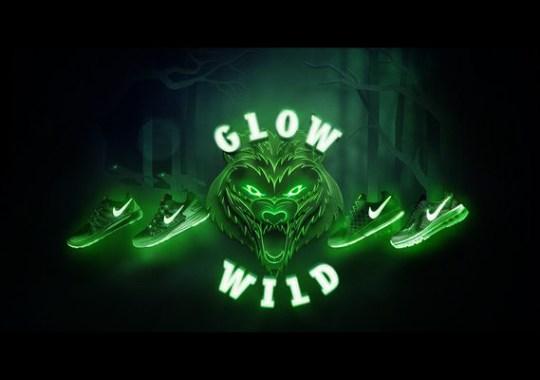 "Nike Kids Running ""Glow Wild"" Collection"