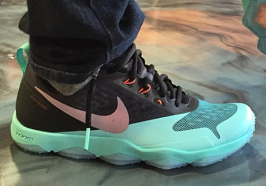 Nike Zoom Hypercross Trainer – Turquoise – Black – Silver
