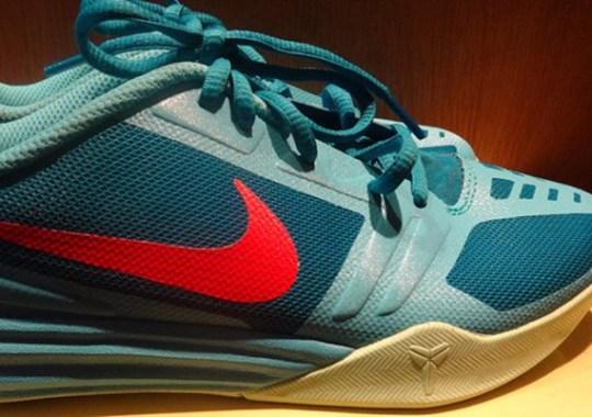 Nike Kobe KB Mentality – Teal – Red