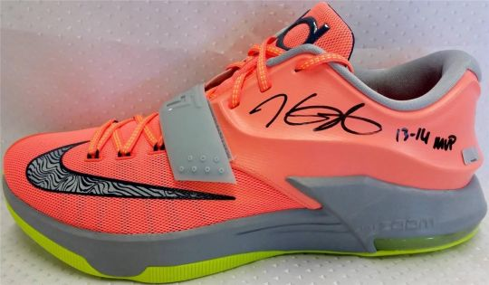 "Nike KD 7 ""35K Degrees"" – Autographed Pair on eBay"