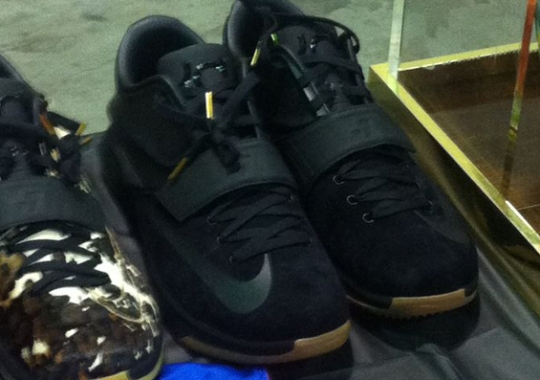 """Nike KD 7 """"Black/Gum"""", """"Pony Hair"""", And More PEs at OK Soles"""