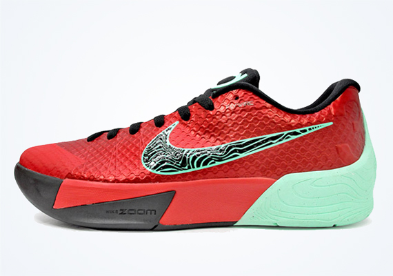 Nike KD Trey 5 II - Action Red - Black - Medium Mint ...