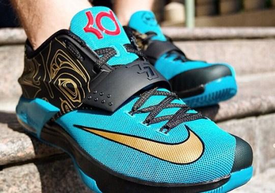 "Nike KD 7 ""N7"" – On-Feet Images"