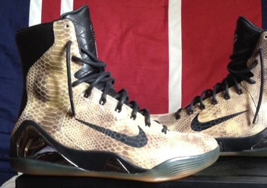 "Nike Kobe 9 Elite EXT ""Snakeskin"" – Release Date"