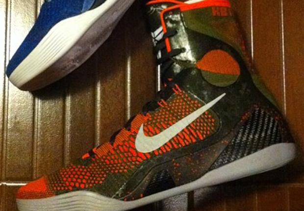 "Nike Kobe 9 Elite ""Strategy"" – Release Date"