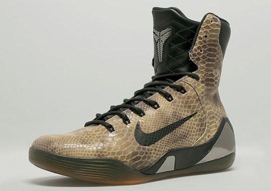 "Nike Kobe 9 High EXT QS ""Snakeskin"" – Release Reminder"