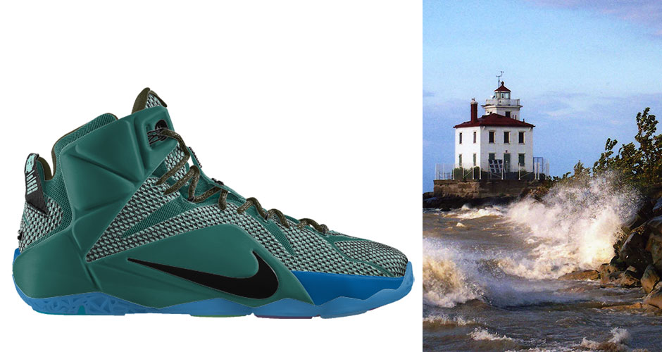 d9b8701d7eed The Nike LeBron 12 Imagined in Twelve Cleveland-Inspired Colorways ...