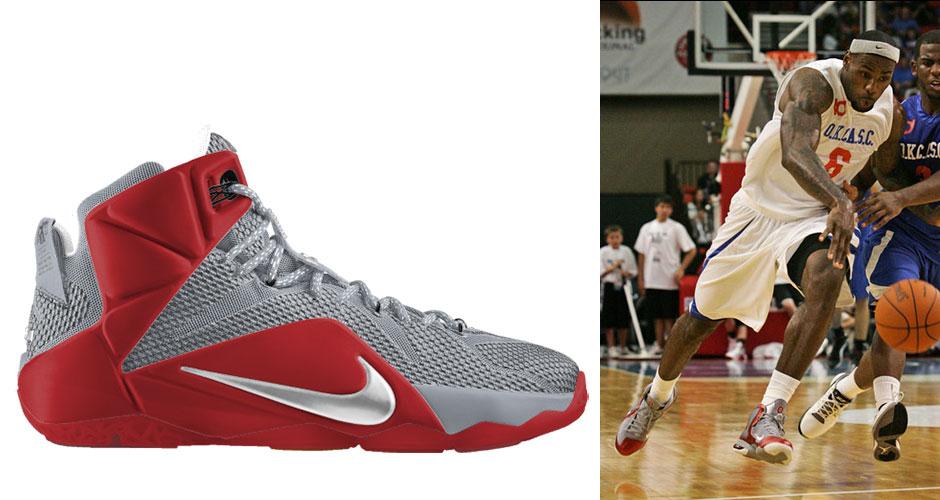 b690feec54f9 The Nike LeBron 12 Imagined in Twelve Cleveland-Inspired Colorways ...