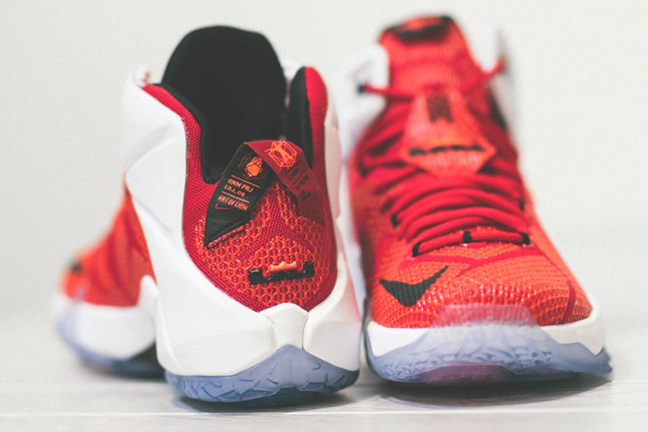 Nike LeBron 12 - University Red - White - Black - SneakerNews.com 19cc8808f
