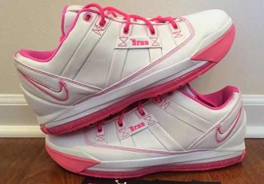 "Nike LeBron 3 Low ""Gloria"" PE – Available on eBay"