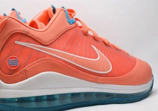 "Nike LeBron 7 Low ""Dolphins"" Sample on eBay"