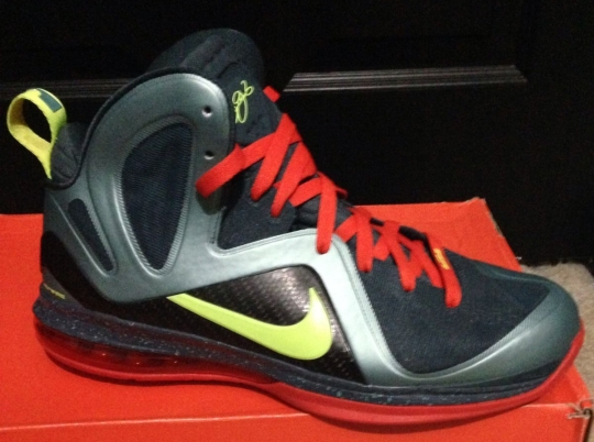 "Nike LeBron 9 Elite ""Cannon"" Sample on eBay"