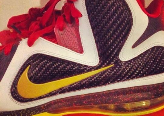 "Nike LeBron 9 ""MVP"" – Alternate Sample on eBay"