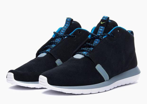 promo code 480b6 207ce Nike Roshe Run NM Sneakerboot – Black – Magnet Grey