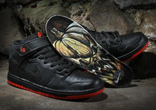 "Nike SB Dunk Mid ""Halloween"" – Available"