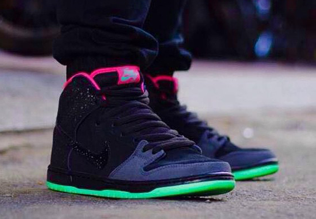 Dunk High Luces Del Norte Nike Sb Yeezy Adidas 2014 en línea suministro alta calidad barata para el buen qP3J2