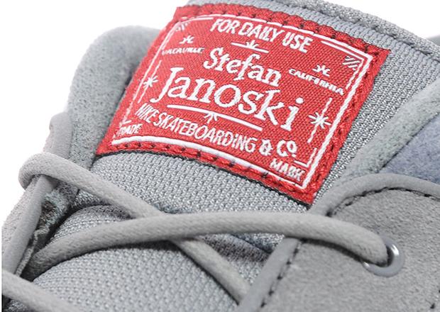 Nike Sb Måne Stefan Janoski Grå Rød Nese NEseYK95