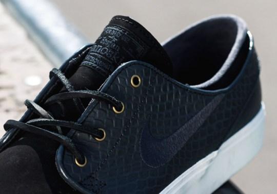 Nike Stefan Janoski Premium – Anthracite – Dark Raisin