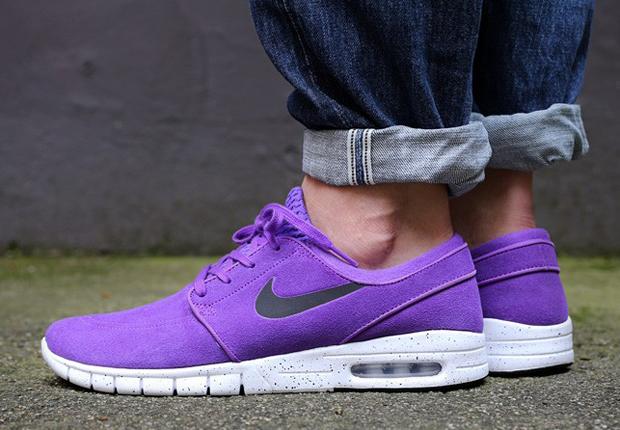 "online store f43a3 2f6a4 Nike SB Stefan Janoski Max ""Purple Suede"""