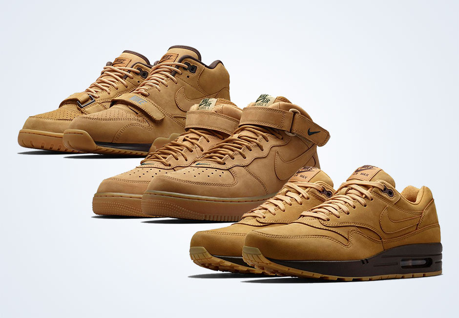 "wholesale dealer 36c2b ecf7f Nike Sportswear ""Flax"" Collection"